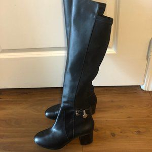 Michael Kors Aileen Leather Boots